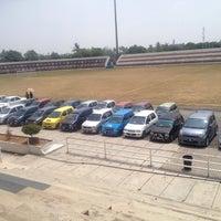 Photo taken at Stadium Sungai Besar by zaidi s. on 4/9/2016