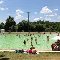 Photo taken at Deep Eddy Park by Michael G. on 7/13/2013