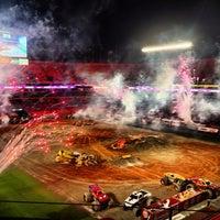 Photo taken at Hard Rock Stadium by Eric C. on 2/10/2013