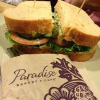 Photo taken at Panera Bread by Aggelliki Q. on 1/5/2013