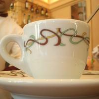 Photo taken at Stadt Café Città by Nadia B. on 3/16/2013