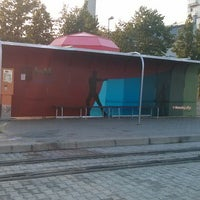 Das Foto wurde bei Pekná cesta (tram, bus) von Mata I. am 6/28/2014 aufgenommen