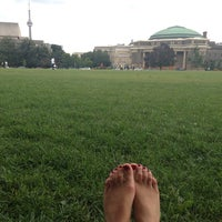 Photo taken at King's College Circle by anna d. on 9/4/2013