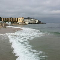 Photo taken at Breakwater Beach by kumi m. on 11/10/2014