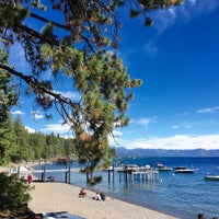 Photo taken at Tahoe Park Homeowners Beach by Jose Luis on 9/3/2016