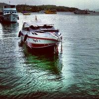 Photo taken at Ao Por Pier by Qannasa on 6/16/2013