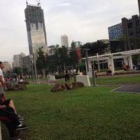 Photo taken at Bonifacio High Playground by dim v. on 1/16/2015