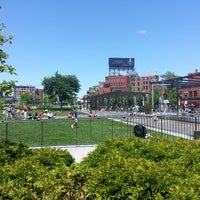 Photo taken at The Rose Kennedy Greenway by Al S. on 5/27/2013