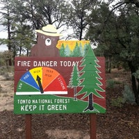 Photo taken at Payson Ranger Station by Andrew D. on 4/9/2013