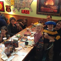 Photo taken at Quaker Steak & Lube® by Clinton F. on 1/6/2013