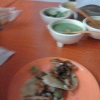 Photo taken at Taqueria La Morena de los Mixes by Are on 12/23/2012