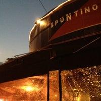 Photo taken at Spuntino by Arta S. on 11/29/2012