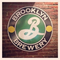 Photo taken at Brooklyn Brewery by Eric S. on 11/18/2012