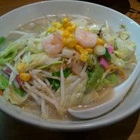 Photo taken at ラーメン神楽 米子店 by Yukio U. on 3/8/2014