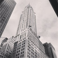 Photo taken at Chrysler Building by Francesca H. on 5/7/2013