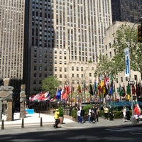 Photo taken at Rockefeller Center by Sam S. on 5/16/2013