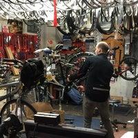 Photo taken at Joe's Bike Shop - Mt Washington by Tim D. on 4/7/2015
