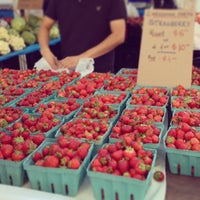Photo taken at Union Square Greenmarket by Graeme F. on 6/19/2013