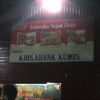 Photo taken at Kios Abank Kumis by Patrick T. on 8/26/2013