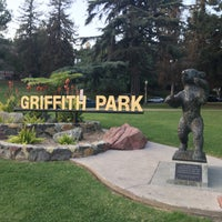 Photo taken at Griffith Park - Western Ave Entrance by Maria on 12/2/2016