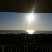 Photo taken at Resort on Cocoa Beach by Dave K. on 3/16/2013