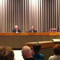 Photo taken at City Council Chambers by Kelly L. on 1/16/2014
