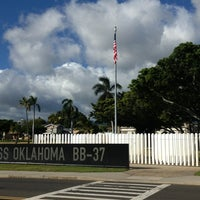 Photo taken at USS Oklahoma Memorial by T.J. H. on 8/16/2013