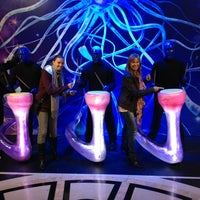 Photo taken at Blue Man Group Theater by Andrea N. on 3/9/2013
