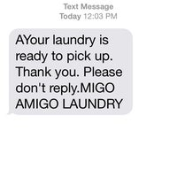 Photo taken at Amigo Laundry by Mike J. on 4/10/2014