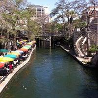 Photo taken at The San Antonio River Walk by Nick S. on 3/25/2013