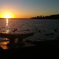 Photo taken at Lake Miramar Reservoir by CJ E. on 3/11/2013