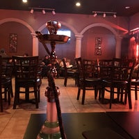 Photo taken at Cleopatra Hookah Lounge by NAIF 7. on 2/18/2015