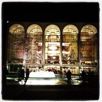 Photo taken at Metropolitan Opera by Lori C. on 4/17/2013