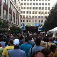 Photo taken at Rochester International Jazz Festival by Bill G. on 6/30/2013