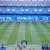 Photo taken at Santiago Bernabéu Stadium by Gonzalo F. on 4/30/2013
