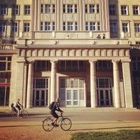 Photo taken at Karl-Marx-Allee by Marat D. on 9/7/2013