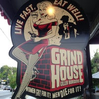 Photo taken at Grindhouse Killer Burgers by Christine M. on 5/30/2013