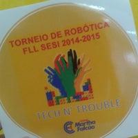 Photo taken at SESI - Serviço Social da Indústria by Aryane O. on 2/13/2015