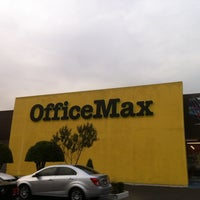 Photo taken at OfficeMax by Izrael P. on 1/22/2013