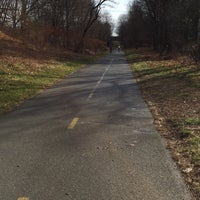 Photo taken at Minuteman Commuter Bikeway by Terence C. on 12/27/2015
