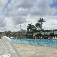 Photo taken at Piscina Olímpica by Rose Mary R. on 12/6/2012