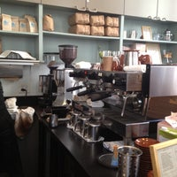 Photo taken at Blue Bottle Coffee by Theron G. on 3/23/2013