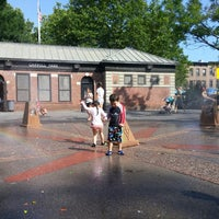 Photo taken at Carroll Park Playground by Francesca N. on 6/22/2015