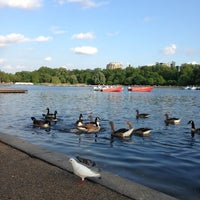 Photo taken at Hyde Park by Bander A. on 6/22/2013