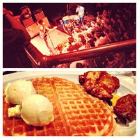 Photo taken at Home of Chicken and Waffles by Vincent N. on 4/18/2013