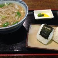 Photo taken at そば茶屋 庄吉 by K N. on 4/30/2014