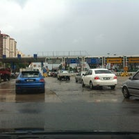 Photo taken at Plaza Tol Sungai Besi by Yasser on 11/5/2012