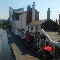 Photo taken at Canalside Cafe by Paul W. on 7/9/2013