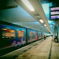 Photo taken at London Blackfriars Railway Station (BFR) by ian on 3/7/2013