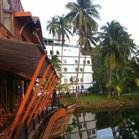 Photo taken at Koh Chang Grand Lagoona Resort by Son T. on 2/25/2012